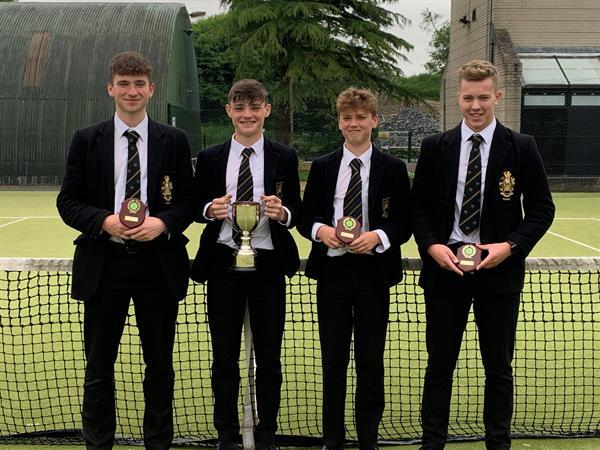 Senior Cup Tennis Winners