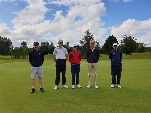 RBAI Golf win Ulster title for third year in a row