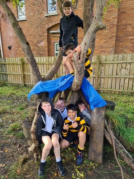 From Hallowe'en thrills to Bear Grylls skills, Inchmarlo boys tackle it all this term!