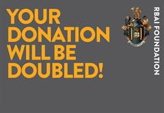 Your Donation Will Be Doubled!
